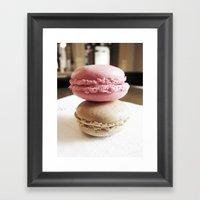 Macarons De Versailles Framed Art Print
