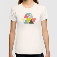 Triangulum Womens Fitted Tee Natural SMALL