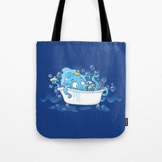 Kracken Bath Tote Bag