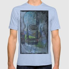Beautiful Music  Mens Fitted Tee Athletic Blue SMALL