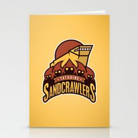 Tatooine SandCrawlers - … Stationery Cards