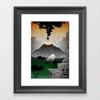 Station//Jungle (5 Of 6) Framed Art Print