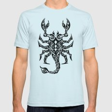Scorpio Mens Fitted Tee Light Blue SMALL