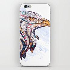 Colorful Ethnic Eagle iPhone & iPod Skin