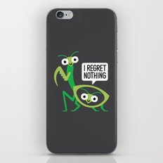 When a Mantis Loves a Woman iPhone & iPod Skin
