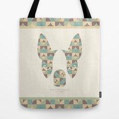 Boston Terrier: Circles. Tote Bag