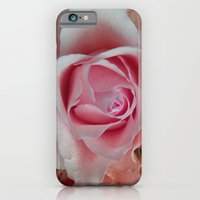 iPhone & iPod Case featuring Gentle Rose by Pink grapes