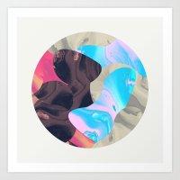Magma Art Print