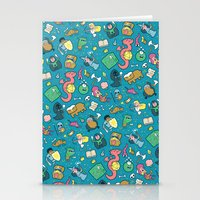 Dungeons & Patterns Stationery Cards