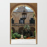 Old traditional Palace Canvas Print