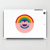 Rainbow Kid iPad Case