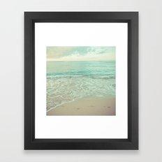 calm day 02 ver.vintage Framed Art Print