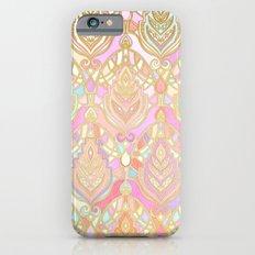 Rosy Opalescent Art Deco… iPhone 6 Slim Case