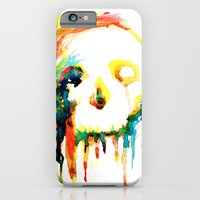 iPhone & iPod Case featuring Happy/Grim by Marco Angeles