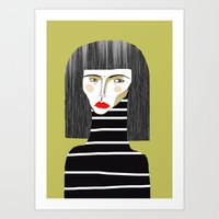 Fashion Illustration. Art Print