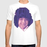 Baby Face Mens Fitted Tee White SMALL