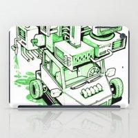 Green Machine Car iPad Case