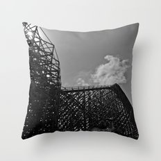 The same ups and downs Throw Pillow