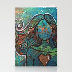 With Heart Stationery Cards