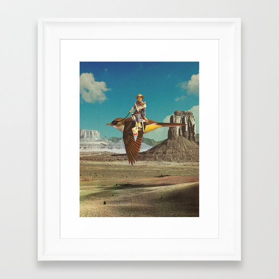 Happy Trails  Framed Art Print