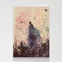 The Fire Rises Stationery Cards
