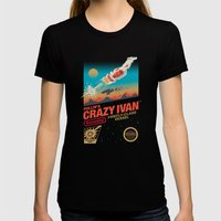 Crazy Ivan Womens Fitted Tee Black SMALL