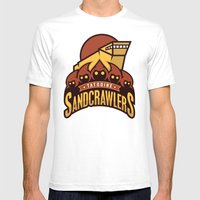 Tatooine SandCrawlers - … Mens Fitted Tee White SMALL