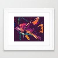 Angelfish V2 Framed Art Print