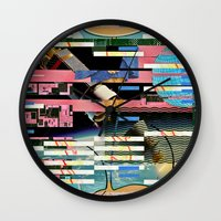 BLUE BALLS (Space is the Place) Wall Clock