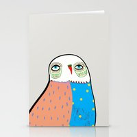 The Owl. Stationery Cards