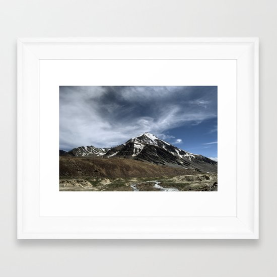 Majesty...the Mountain..! Framed Art Print