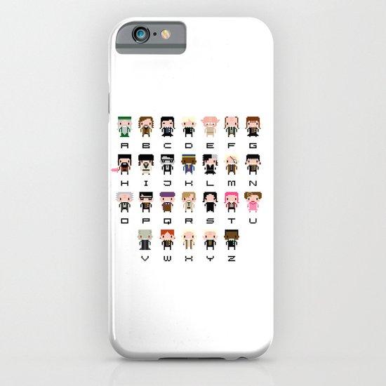 Harry Potter Alphabet iPhone & iPod Case