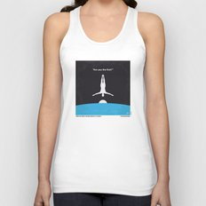 No208 My The Man Who Fell to Earth minimal movie poster Unisex Tank Top