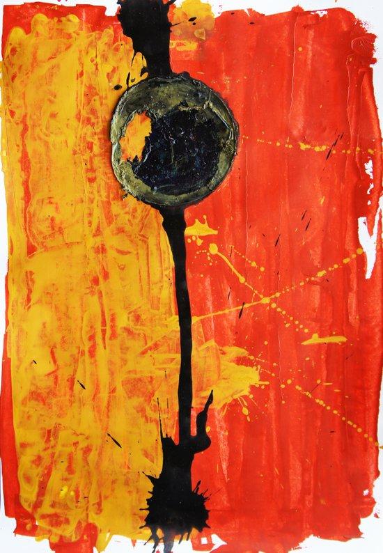 Circles 4 Art Print