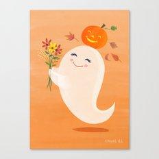 Bella Boo Ghost  Canvas Print