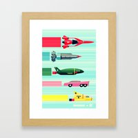 THUNDERBIRDS! Framed Art Print