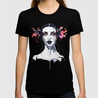 Felice Womens Fitted Tee Black SMALL