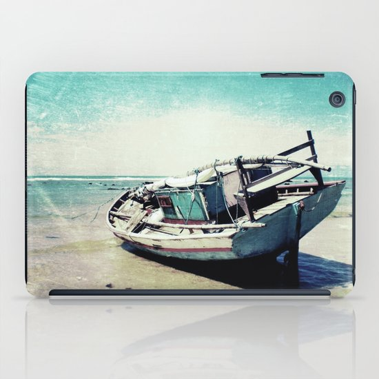 Waiting for the tide to change iPad Case