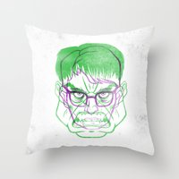 Always Angry Throw Pillow