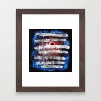 Blindsided Framed Art Print