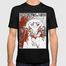 Apollonia Saintclair 370… Mens Fitted Tee Tri-Black SMALL