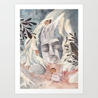 chaneque Art Print