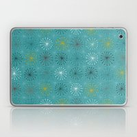 seedheads blue Laptop & iPad Skin