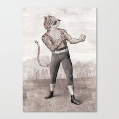 Champ Canvas Print