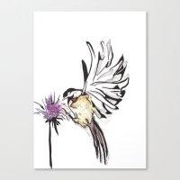 Chickadee Canvas Print