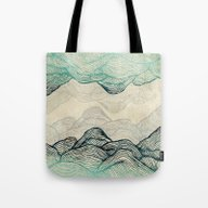 Tote Bag featuring Crash Into Me  by Rskinner1122