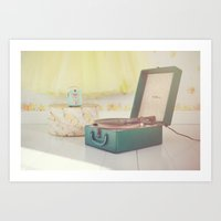 Happiness today is just a Song away... Art Print