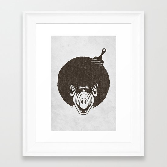 Alfro Framed Art Print