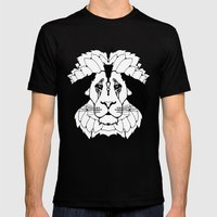 Mane Attraction (Stealth) Mens Fitted Tee Black SMALL