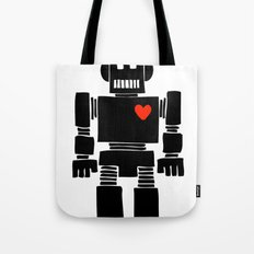 Loverbot Tote Bag
